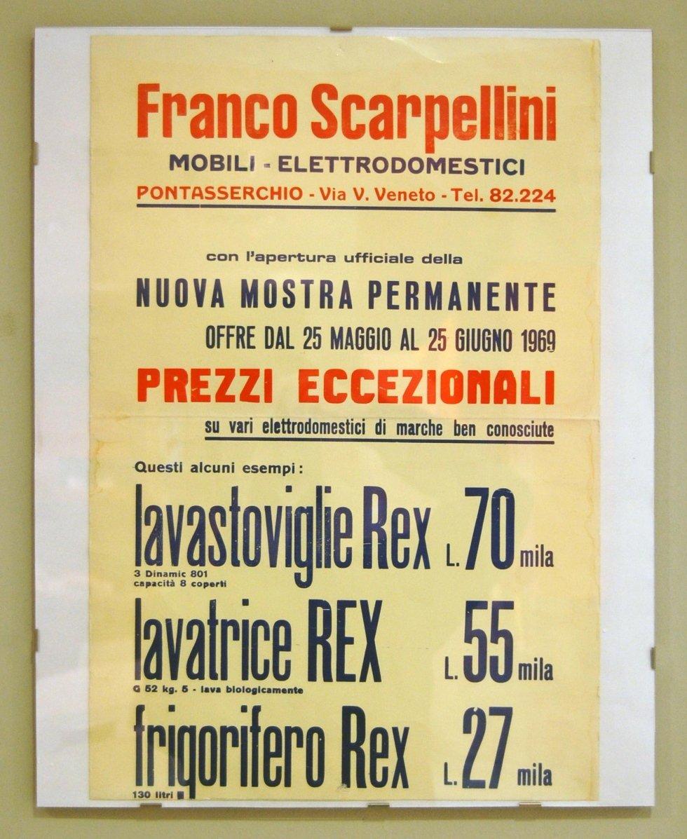 Manifesto pubblicitario 1969