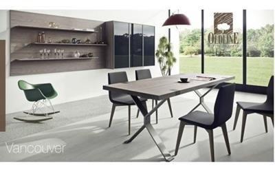 tavoli da pranzo mobilificio Scarpellini