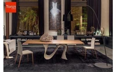 tavolo in legno mobilificio Scarpellini