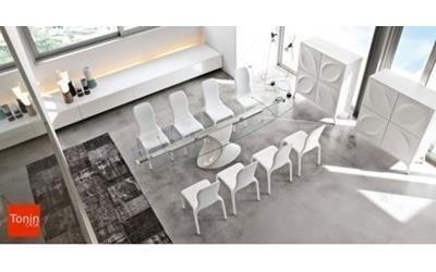 tavoli in legno mobilificio Scarpellini
