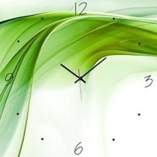 Orologio in vetro fantasia