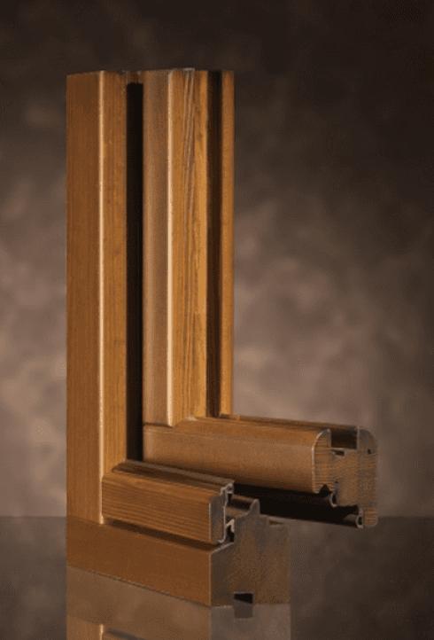 sezione 68 in legno