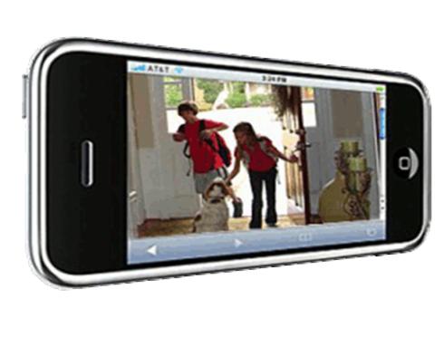 controllo tramite cellulare, smartphone, protezione della famiglia Margarita