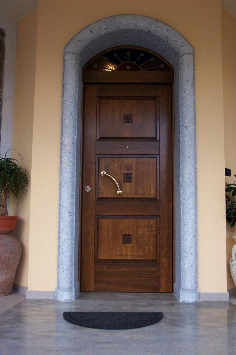 portale su massello