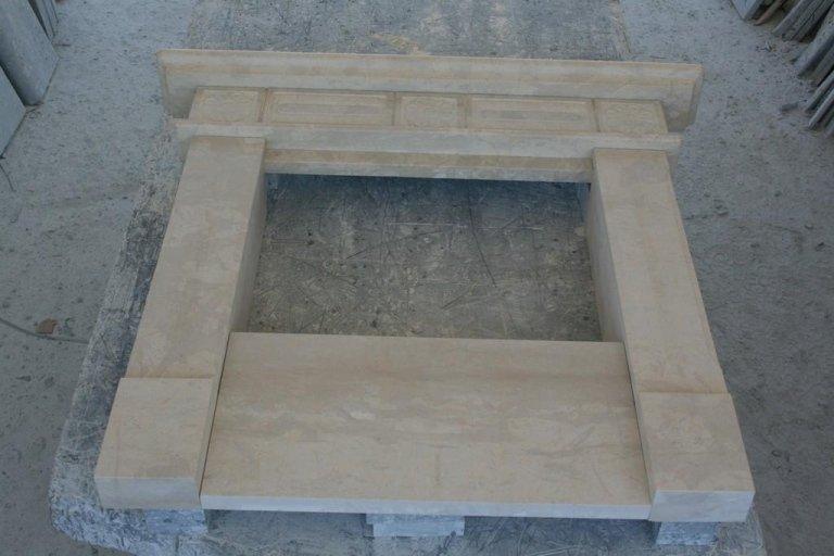 Caminetto in pietra tala