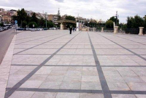 Cominciamo con la pavimentazione del Lungomare di Reggio Calabria
