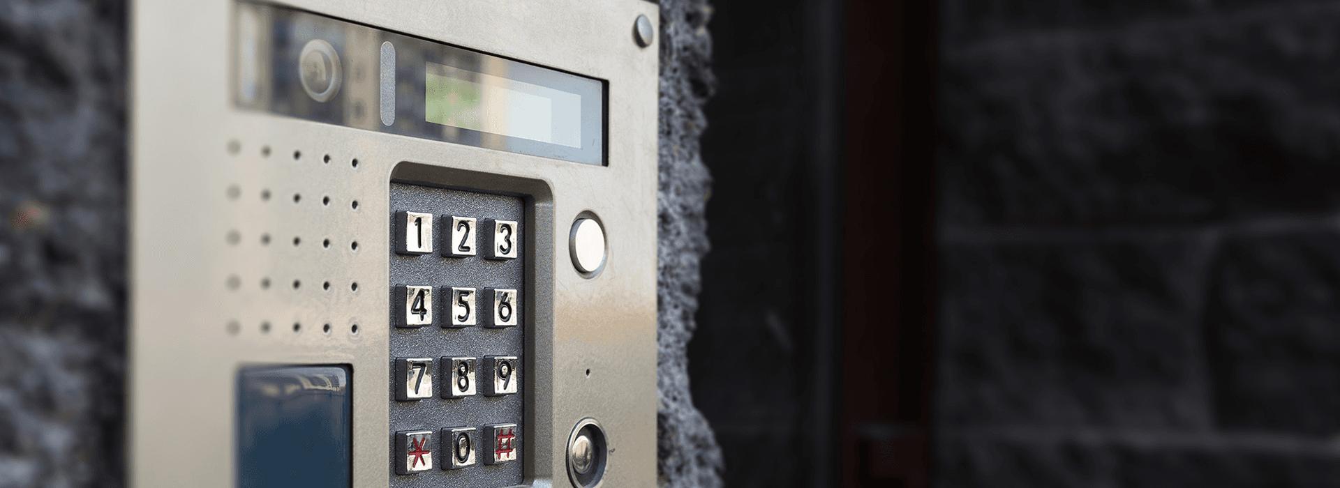 intruder security lock