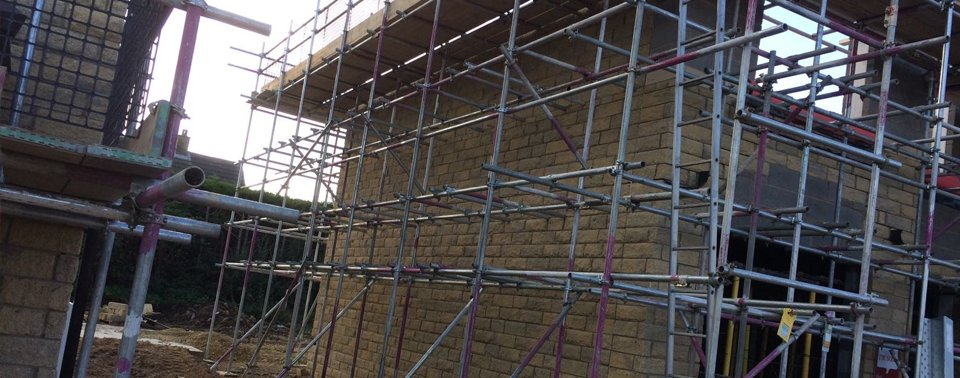 Scaffold for new build