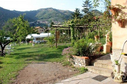 Vista della fattoria scuola