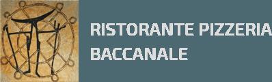 RISTORANTE PIZZERIA BACCANALE - LOGO