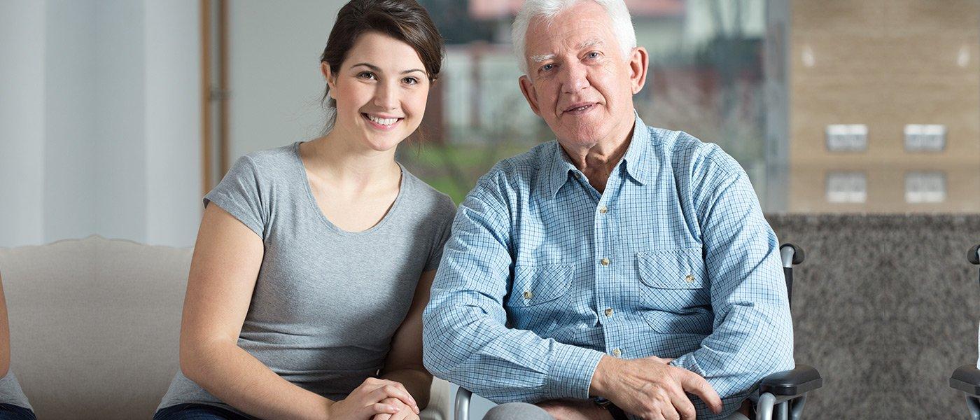 anziano con donna