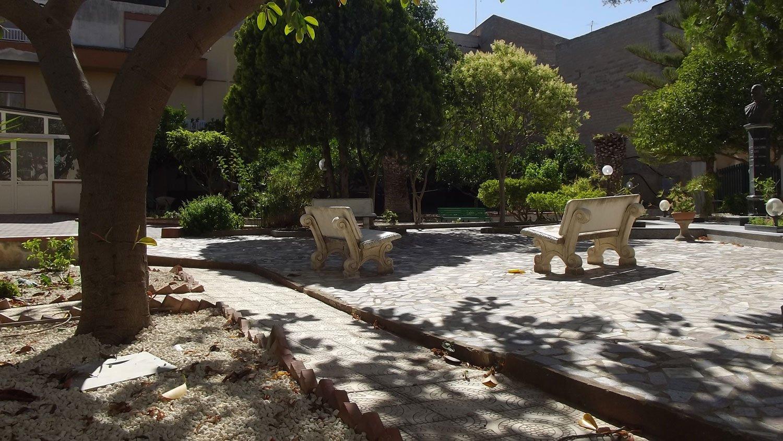 giardino casa di riposo
