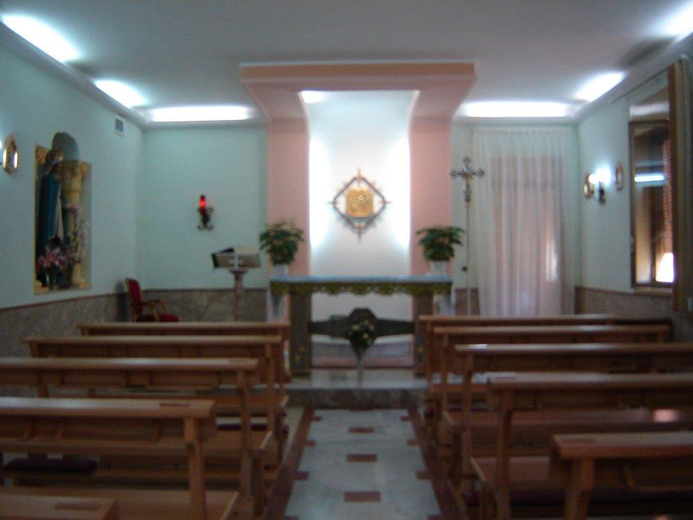 chiesa stanza di riposo