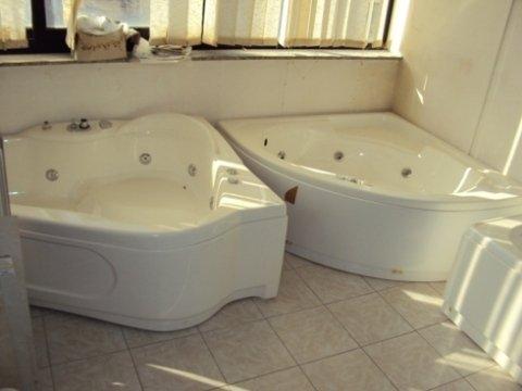 lavabo, sanitari, Vasca da bagno, arredo bagno, idromassaggio