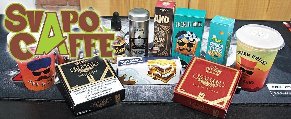 Vendita sigarette elettroniche - Svapo Caffè - Piombino - Livorno