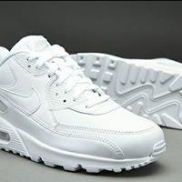 scarpe bianche della nike