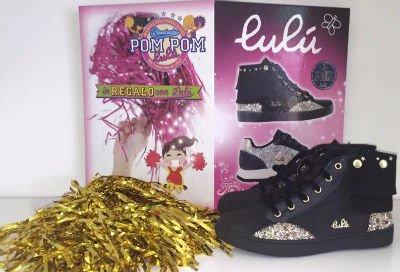 delle scarpe nere della marca Lulù
