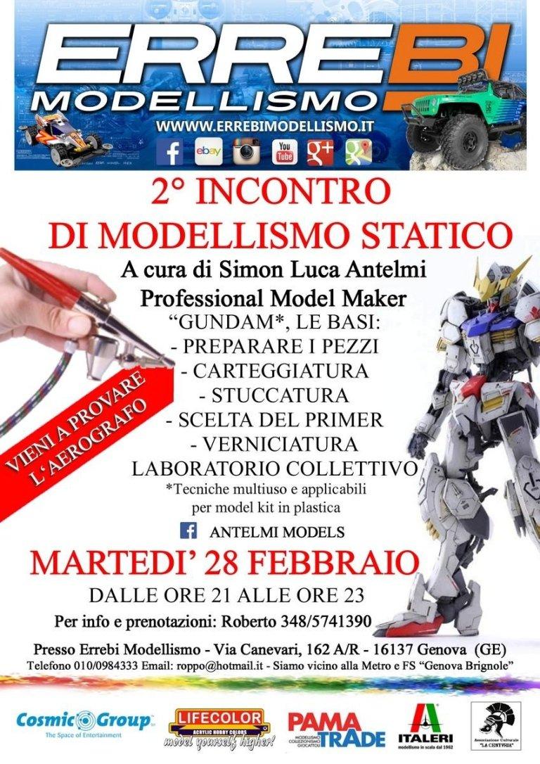 incontro modellismo statico 2017