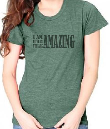 Live and Love Now Amazing Tee