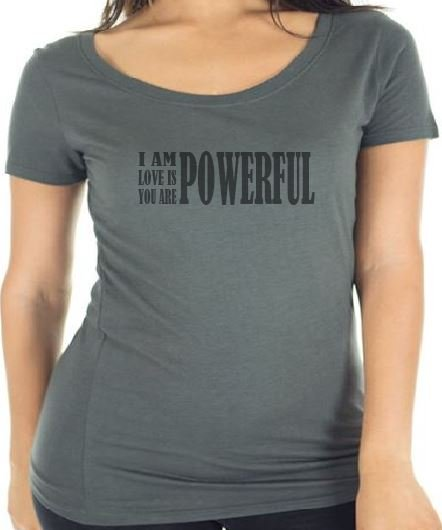Live and Love Now Powerful Tee