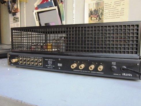 Retro amplificatore
