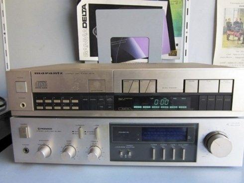 Lettore cd con radio