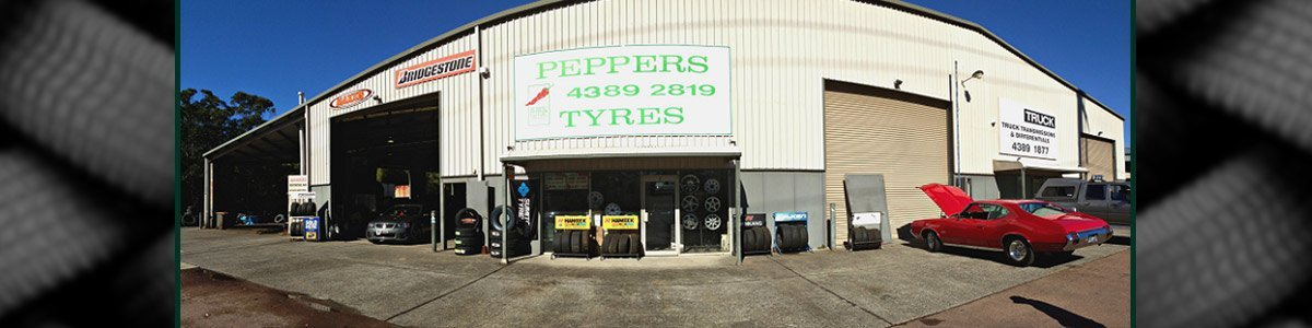 peppers tyres exterior view