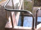 Corrimano scale in acciaio