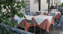ristorante tavoli esterni firenze
