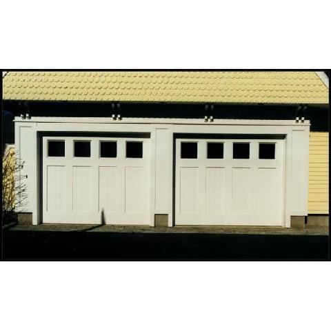 Square Top Custom Carriage Garage Doors Norwalk