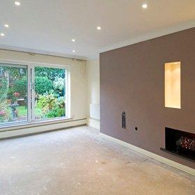 Plastering work - St Andrews, Kirkcaldy, Stirling, Scotland - Barry Davidson Plastering - Wall