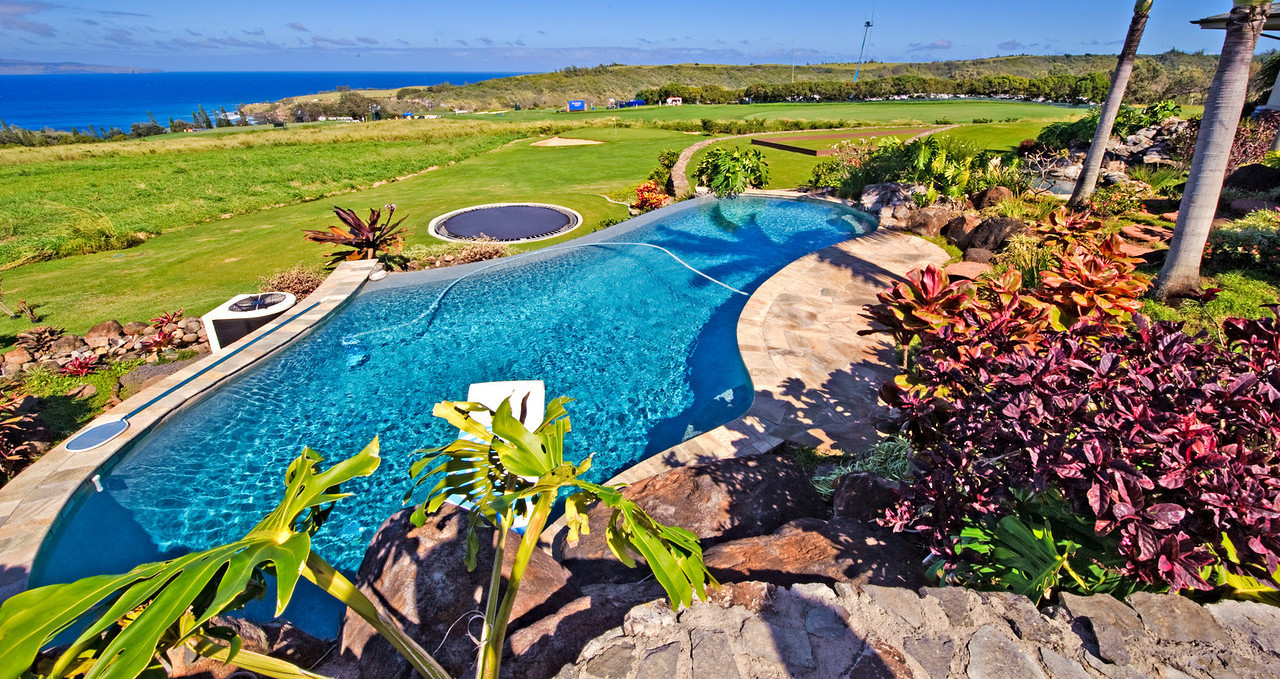 Pool in Kihei,  Maui with the pool services company in Kihei, HI