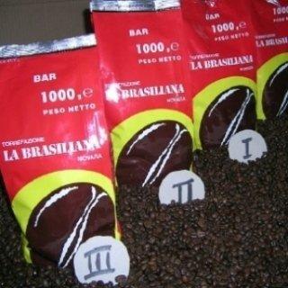 la brasiliana, novara, caffè in grani, torrefazione, cioccolato in polvere