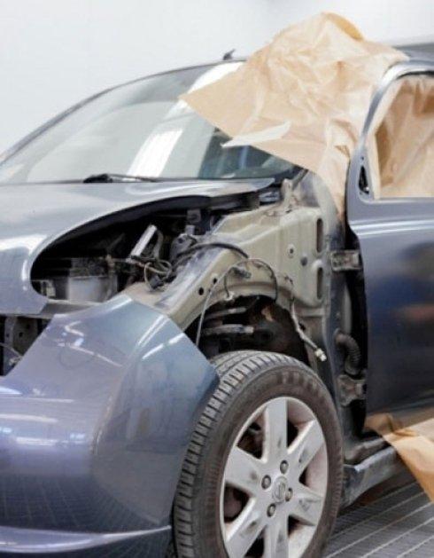 riparazione auto danneggiate