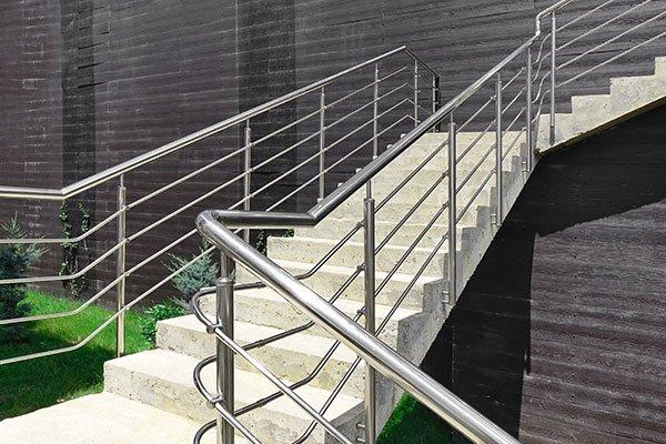 Rampa di scale esterne