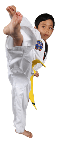 ITF Kids Martial Arts - turning kick