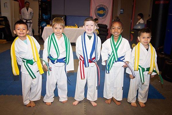 Little Ninjas Belt Promotion