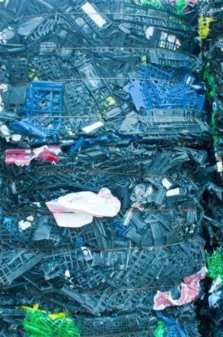 plastique usagé