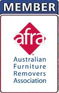 city west removals and self storage afra logo