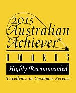 city west removals and self storage australian achiever logo