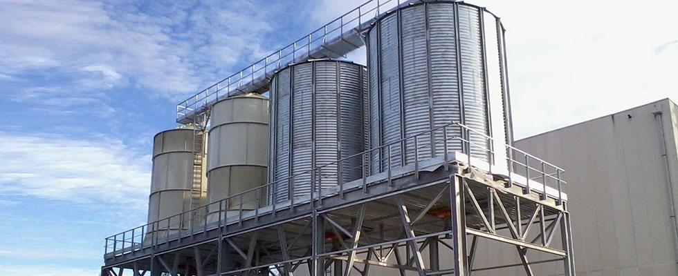 impianto silos