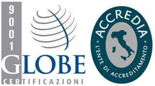 Globe and Accredia CERTIFICATIONS