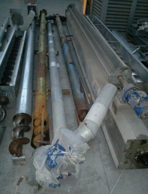 USED AUGERS AND CONVEYORS