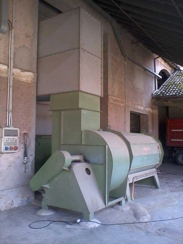 essiccatoio a riciclo