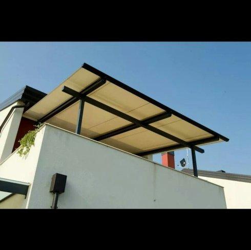 Tencover, pergola per terrazzo, copertura