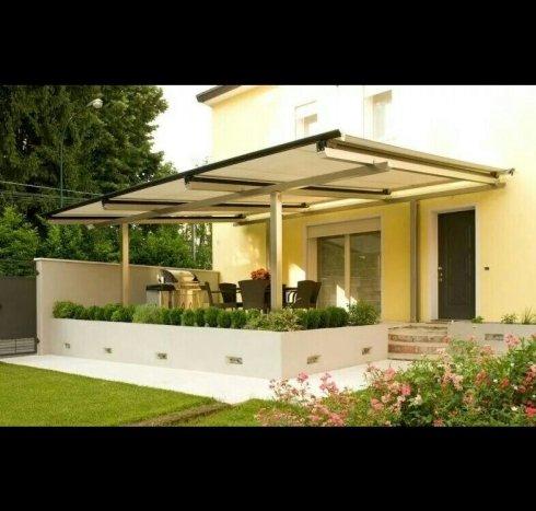 Pompeiana, copertura, pergola, pergola per giardino