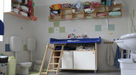 fasciatoio, cambio bambini, bagno per bambini