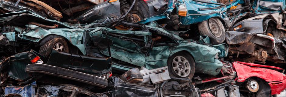 Scrap Metal Collection - Merseyside - Eastham Metals - scarp car