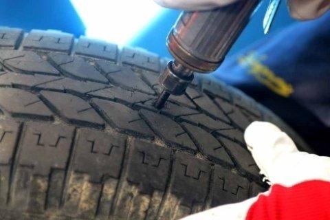 riparazione bucatura gomme