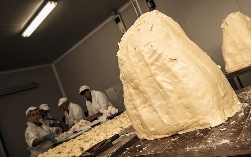 Lavorazione di burro artigianale airasca